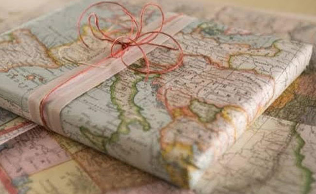 Wrap with a map