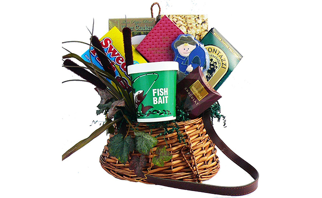 Gift Basket for Men Who Fish