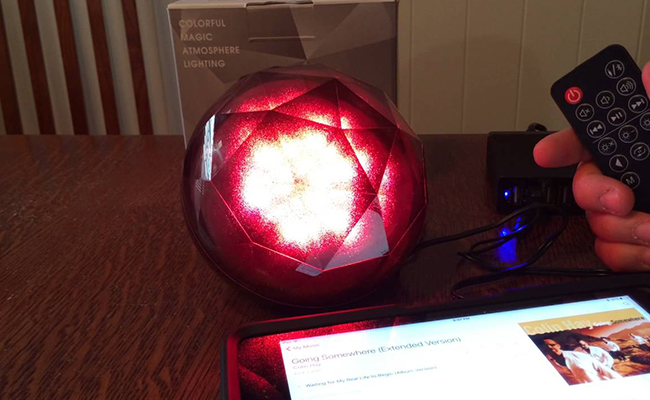 Magic Colour Ball Bluetooth Speakers for Geminis