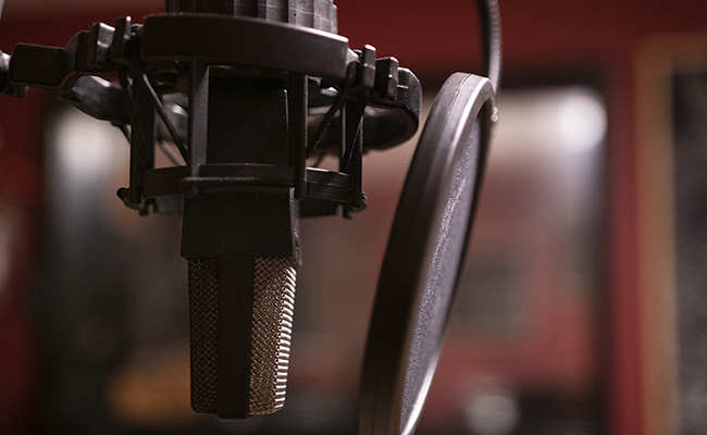 Microphones and Voiceover Mic