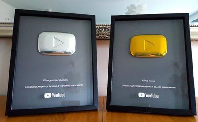 Youtube PlayButton