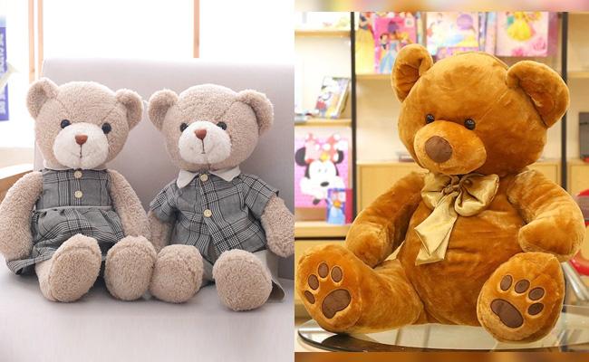Teddy bear and soft toys