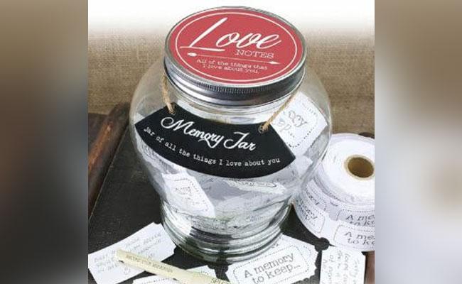 Jar of Romantic Memories