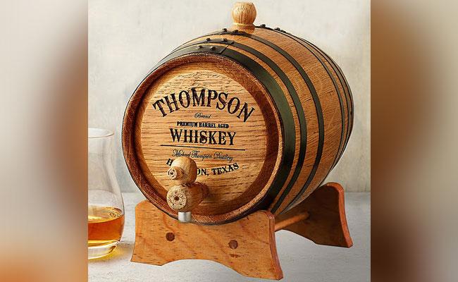 Personalised Whiskey Barrel
