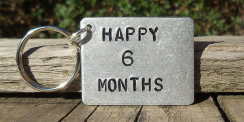 Ways to Celebrate 6 Month Anniversary with Your Partner