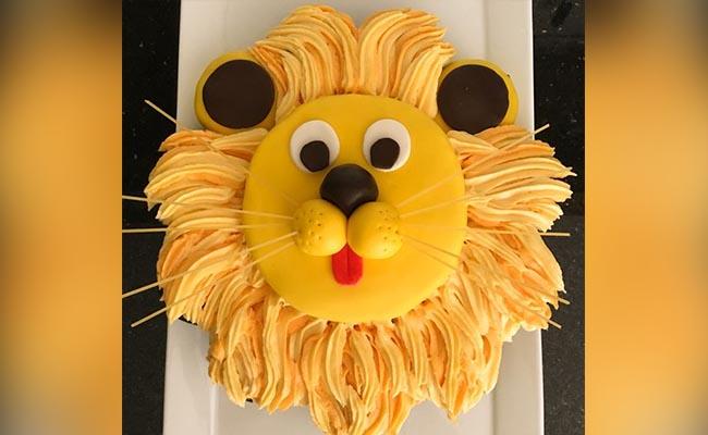 Lion's Cub Cake