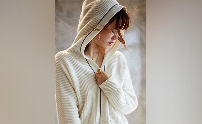 Soft Cashmere Hoodie