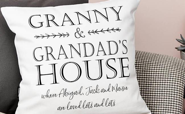 Cushions for grandma