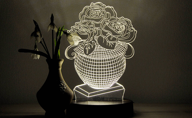 Led lamp gift for grandma