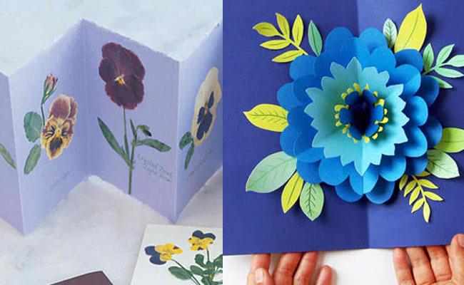3D Flower Handmade Birthday Card