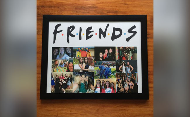 F.R.I.E.N.D.S Collage
