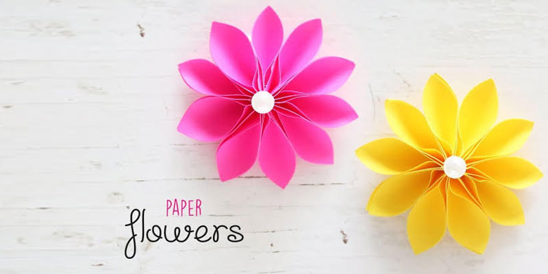 DIY Ideas for Handmade Paper Flowers