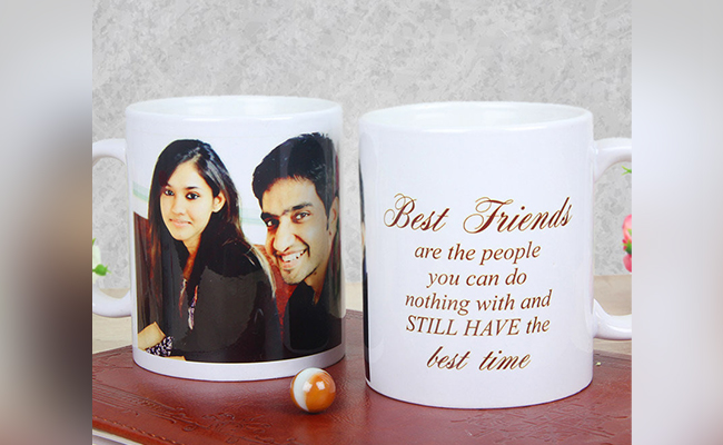 Personalised Best Time Mug For Best Friend