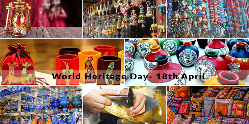 Celebrate World Heritage Day with some known Handicrafts of India