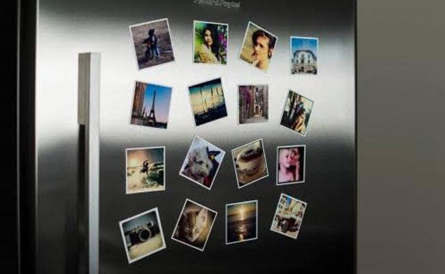 Polaroid Magnets for Husband