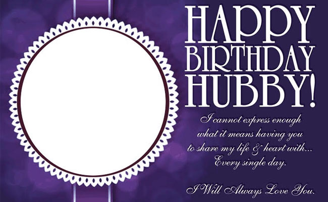 Birthday Personalised Poster for Husband
