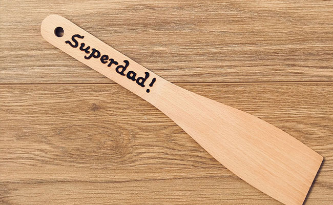 Homemade Personalised Spatula