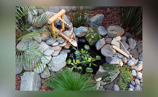 Bamboo Pipe Fountain