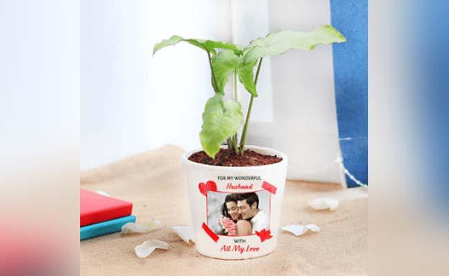 Personalized Plants Pot