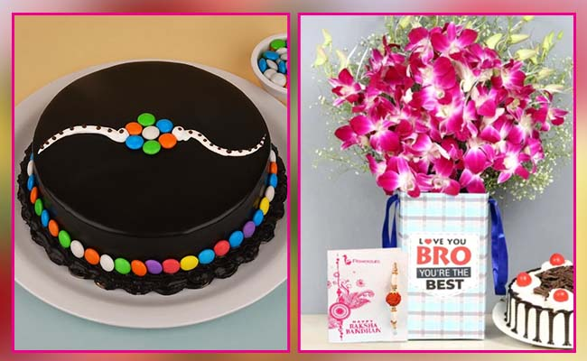 Cake and flowers For Men