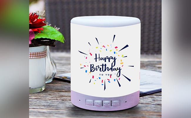 Personalised Bluetooth Speaker For Colleague