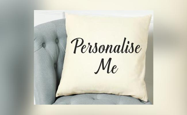 Personalised Comfy Cushion For Colleague