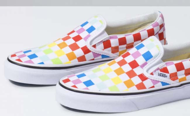 The Rainbow Shoes for girl