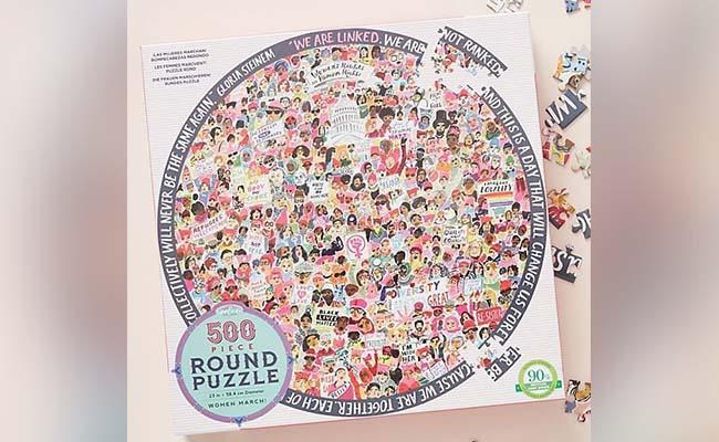 Womens Jigsaw Puzzle