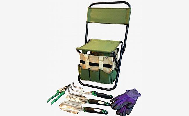 Gardener Tool Gift Seat for Mom