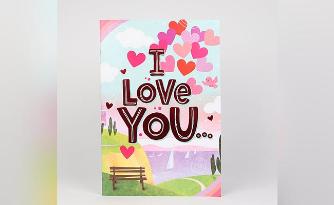 I Love You Greeting Card for Girlfriend