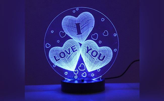 I Love You LED Lamp for Girlfriend