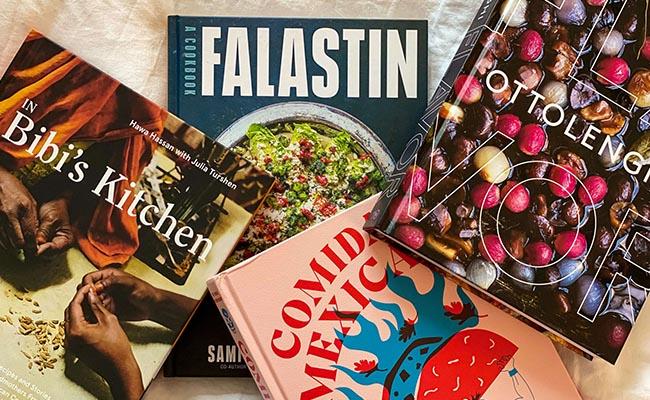 Assortment of Cookbooks for Him