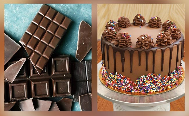Cakes and chocolates for Dad