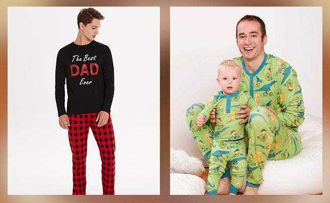 Tshirt Pyjama Gift Set for Dad