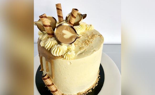 Coffee Culture Birthday Cake
