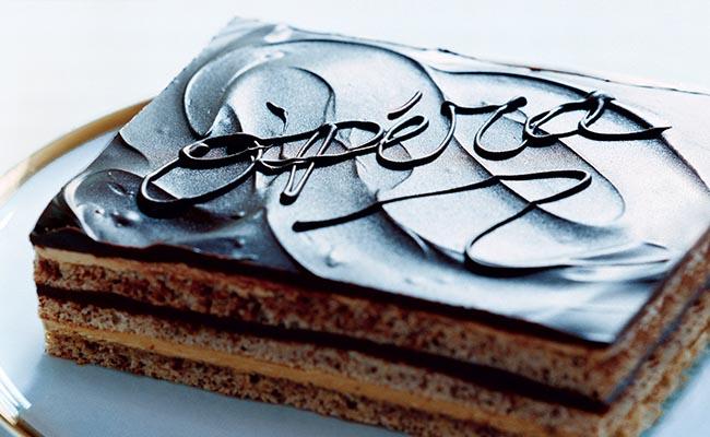 Chocolate Opera Cream Cake