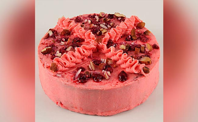 Pink Berry Fit Cake