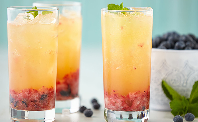 Blueberry Ginger Refresher
