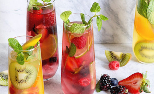 Mix Fruit Punch: A Mocktail of mix fruits