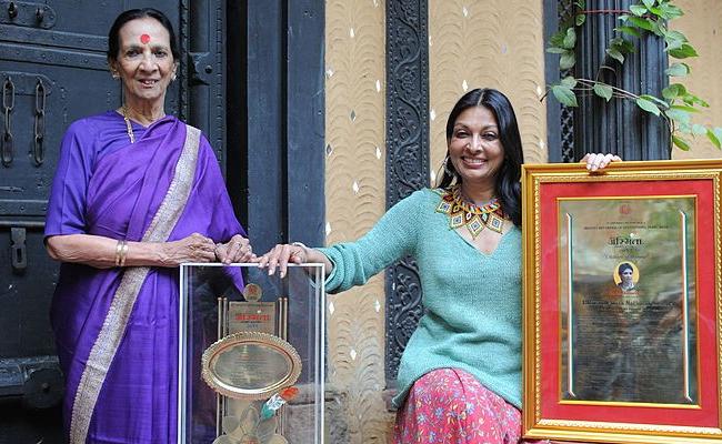 Mrinalini Sarabhai and Mallika Sarabhai