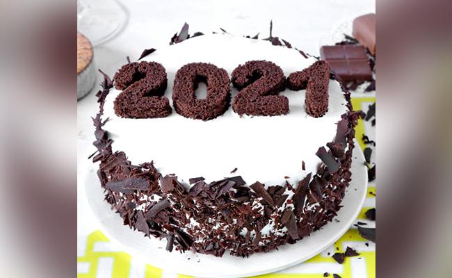 Choco 2021 New Year Cake