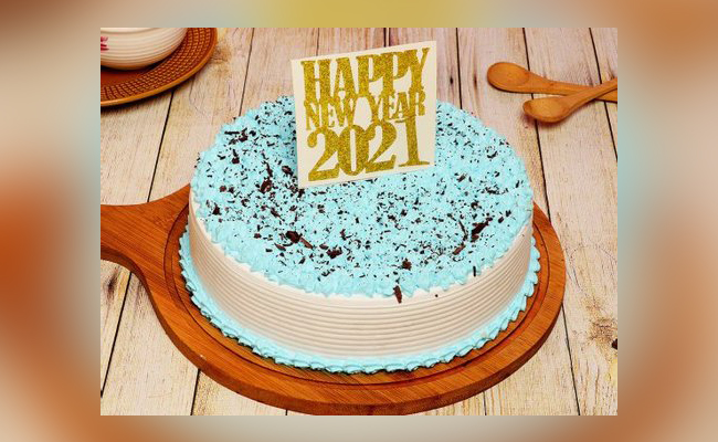Eye Catchy Happy New Year Cake