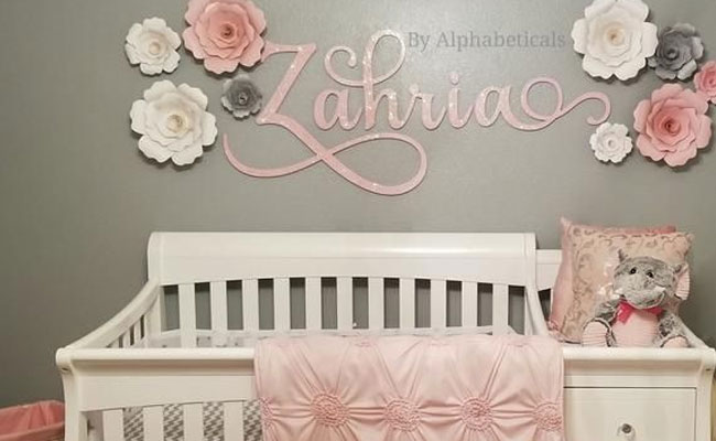 Personalised Cradle for Newborn Baby