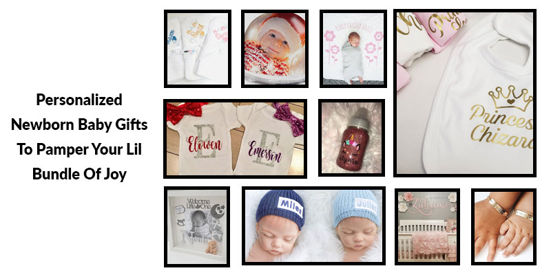 10 Personalized Newborn Baby Gifts
