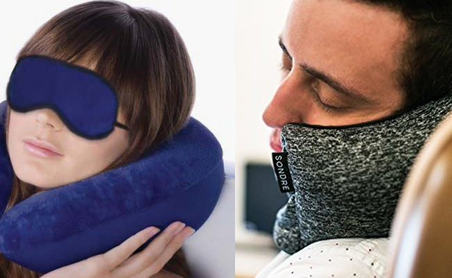 Mask and Neck Pillows