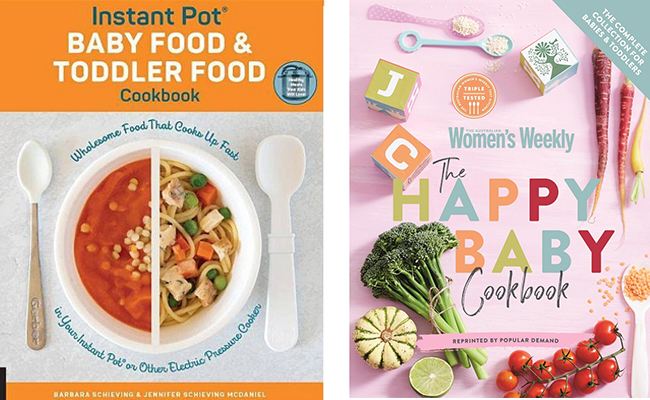 Baby CookBook - Offbeat First Mothers Day Gift for New Mom