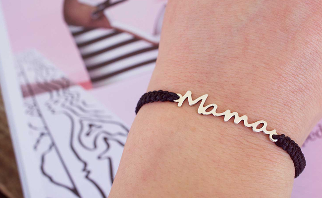 Mama Bracelet Gift for First Mother's Day of New Mom