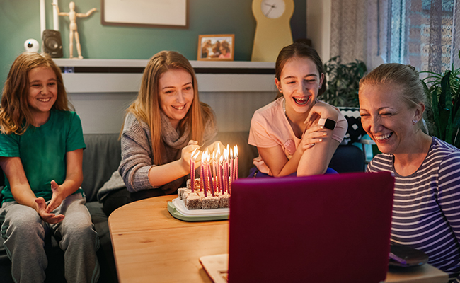 Host a Virtual Birthday Party over Zoom