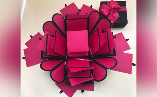 Mothers Day Explosion Box