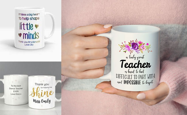 Personalised Mugs for teacher